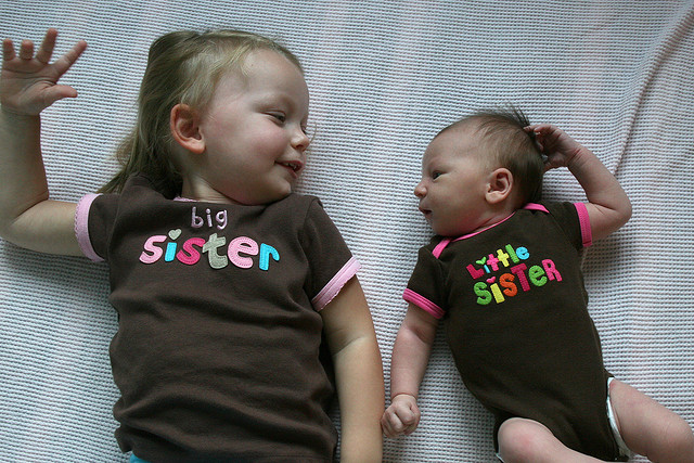 How do you prepare your young child for the birth of a sibling?