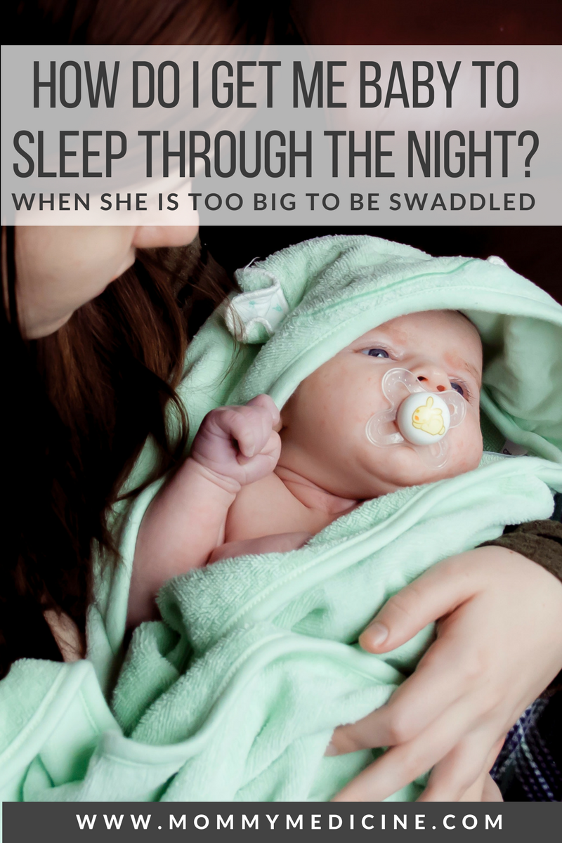 how to get my baby to sleep through the night?